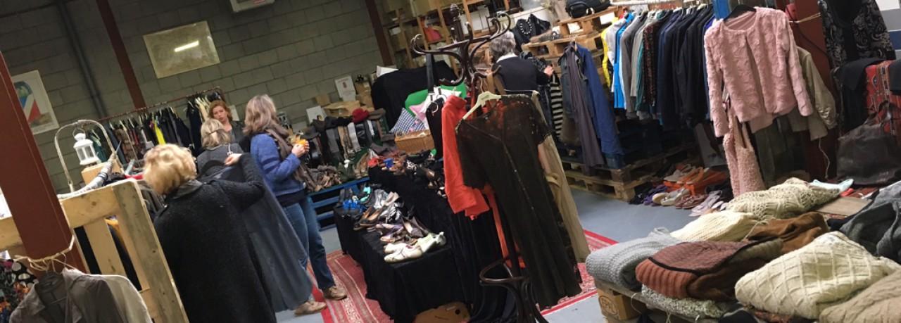 Pop-up vintage kledingwinkel Lions Ceres